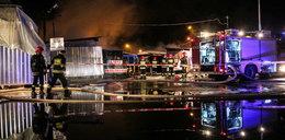 Wielki pożar targowiska w Lublinie. To było podpalenie!