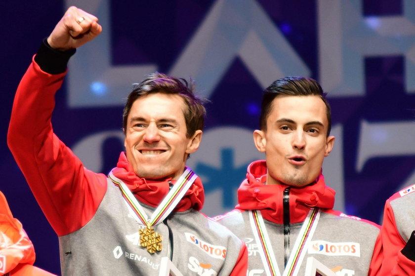 Kamil Stoch, Maciej Kot i Piotr Żyła dostali... tydzień urlopu