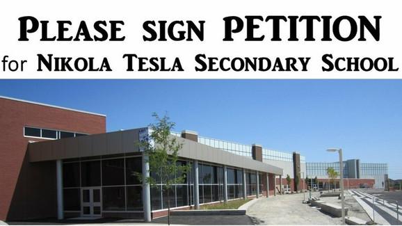 Škola koja bi nosila ime Nikole Tesle