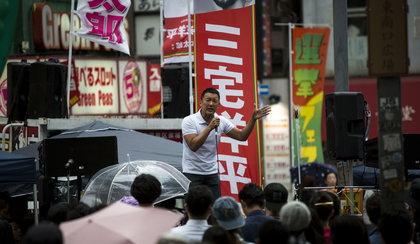 Polityk chce odwołać igrzyska, jeśli wygra wybory w Tokio