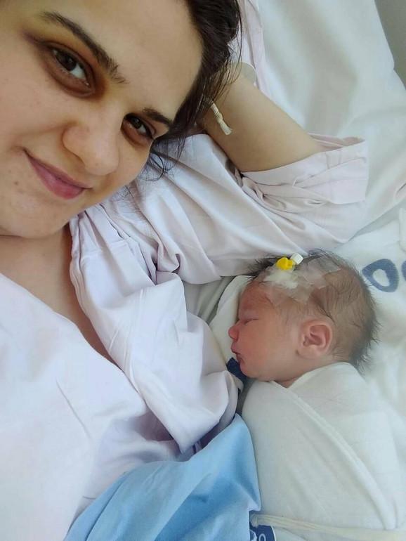 Katarina Ocokoljić porodila se u automobilu