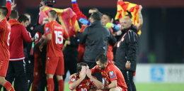 Piłkarze z Bałkanów zagrają w mistrzostwach Europy. Macedonia Północna płakała ze szczęścia