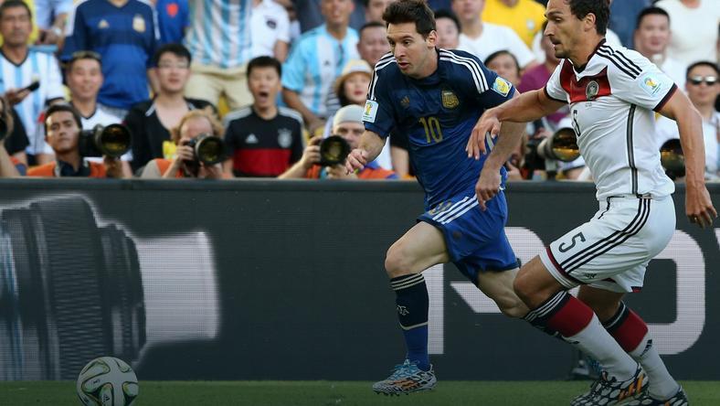 Lionel Messi i Mats Hummels