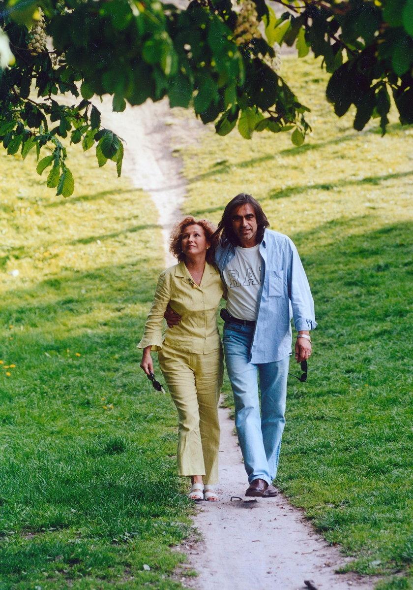 Witold Paszt z żoną