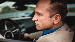 """""""Pakt"""": Borys Szyc na planie serialu"""