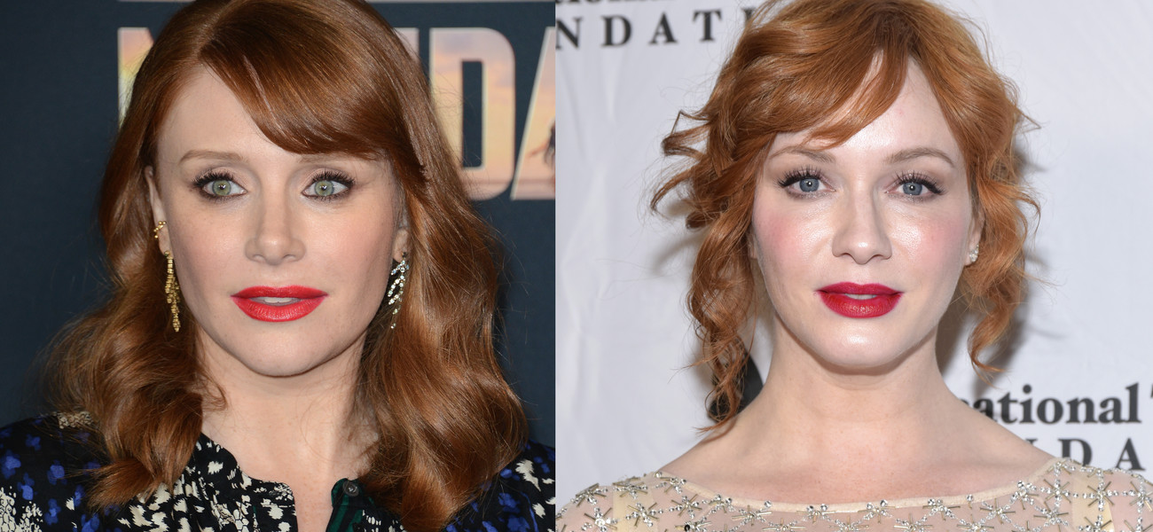 Bryce Dallas Howard / Christina Hendricks / Getty Images