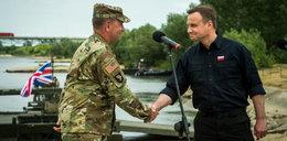Polskie odznaczenie dla amerykańskiego generała