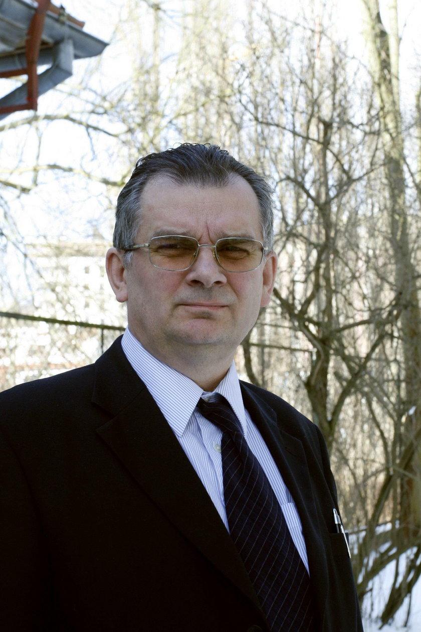Leszek Trojanowski, wieloletni dyrektor szpitala psychiatrycznego w Gdańsku