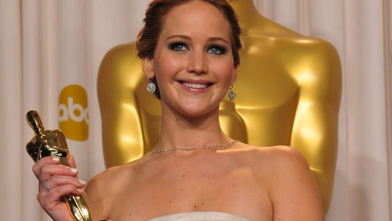 "Jennifer Lawrence z Oscarem za ""Poradnik pozytywnego myślenia"""