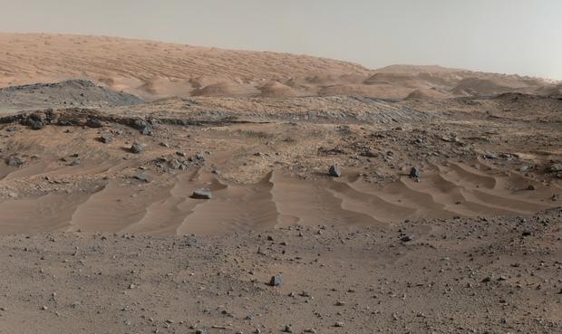 Powierzchnia Marsa Fot. Nasa