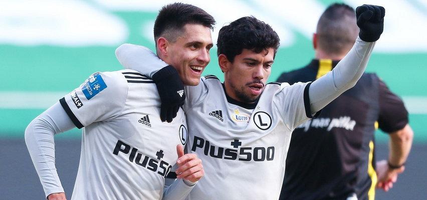 Legia wywozi trzy punkty z Zabrza