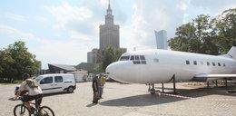 """Samolot """"wylądował"""" na Świętokrzyskiej"""