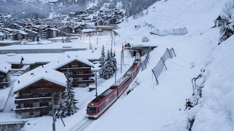Pociąg, Zermatt