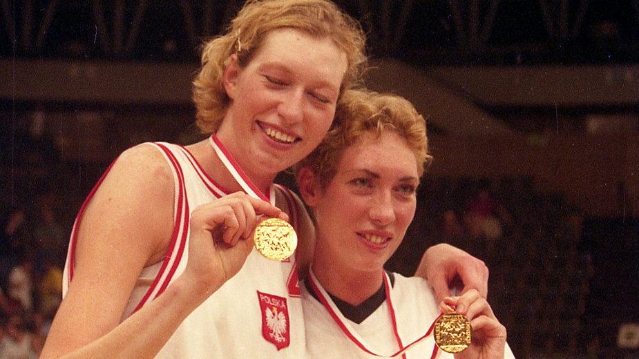 Małgorzata Dydek i Katarzyna Dydek