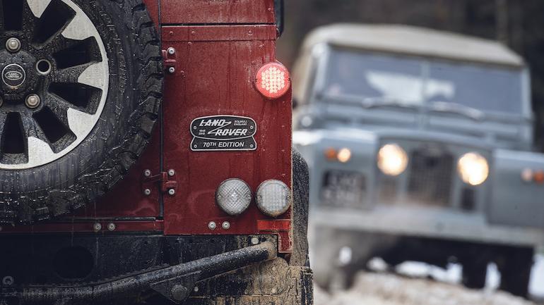 Land Rover Defender – limitowana wersja