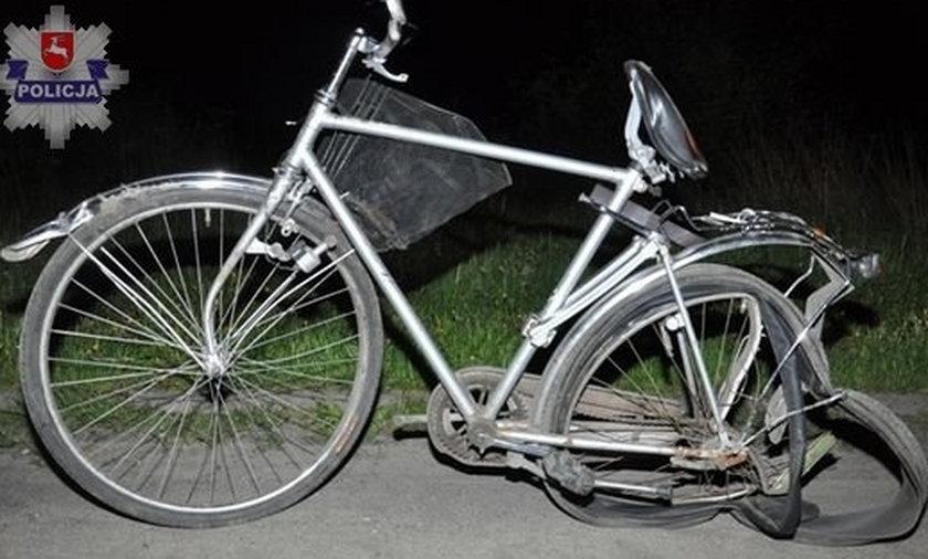 Potrącił rowerzystę i uciekł. Szuka go policja