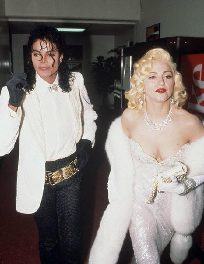 Madona i Majkl Džekson na dodeli Oskara 1991.