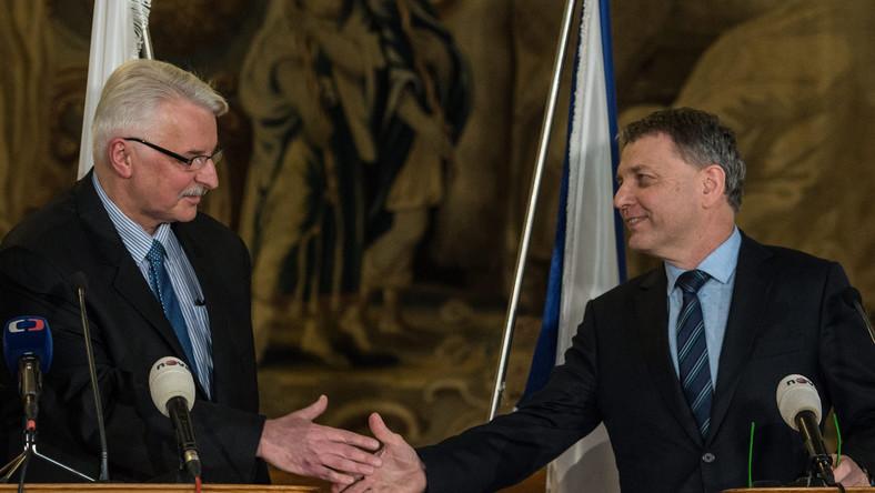 Witold Waszczykowski i Lubomir Zaoralek
