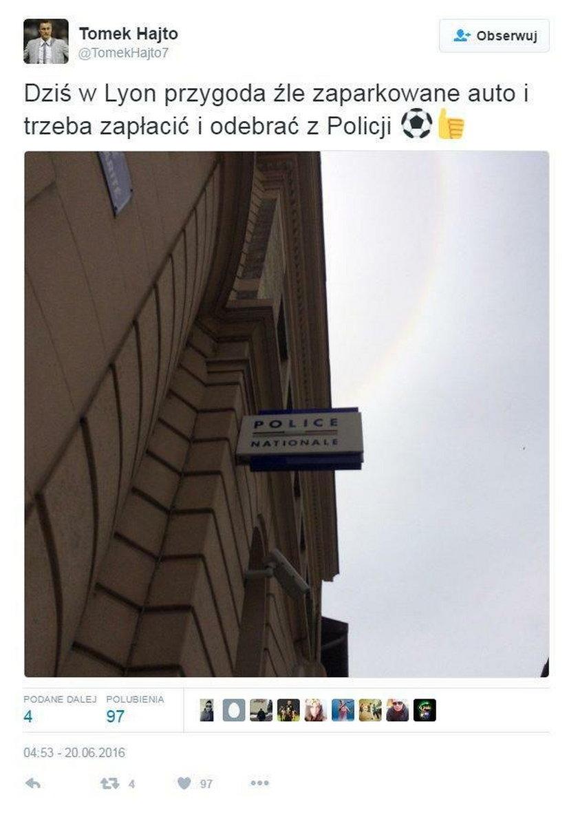Tomasz Hajto wylądował na komisariacie w Lyonie! Co się stało?