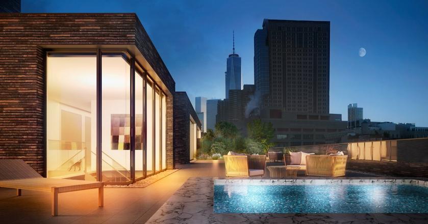 Luksusowy apartamentowiec schronieniem dla gwiazd. Mieszkanie kosztuje tu 54 mln dolarów [GALERIA]