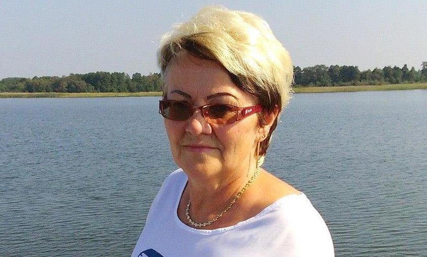 Pani Danuta Nowakowska z Krzeszowic oddała szpitalom 13. emeryturę