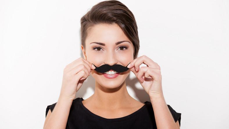 Kobieta z wąsami