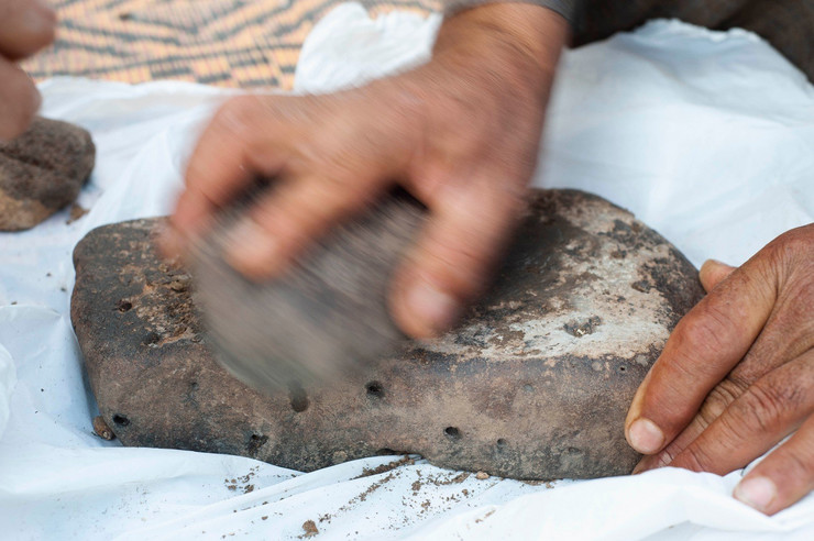 Najstraiji hleb, arheologija