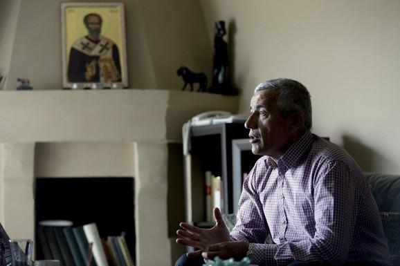 Oliver Ivanović u svom domu