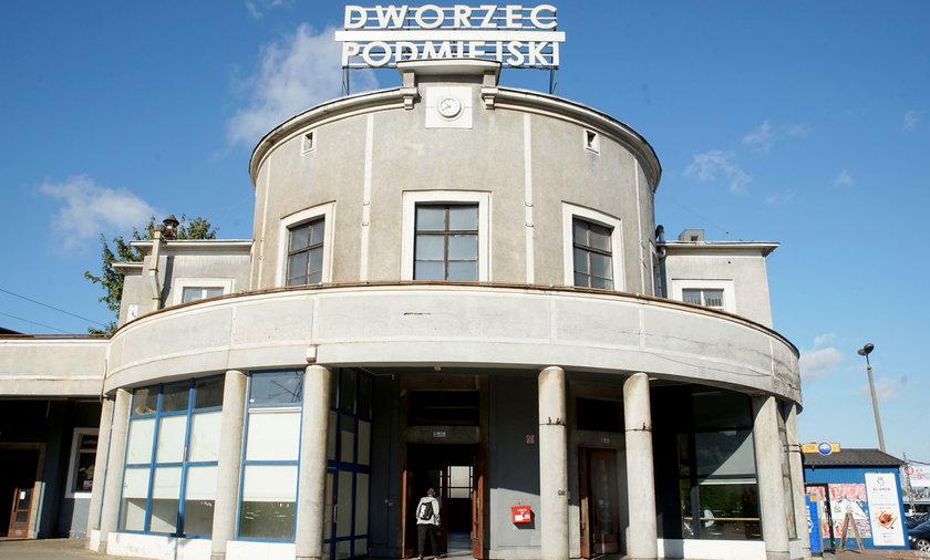 Dworzec Podmiejski w Gdyni.
