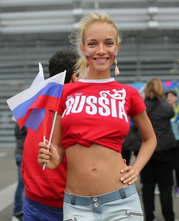 Rusija, navijačice
