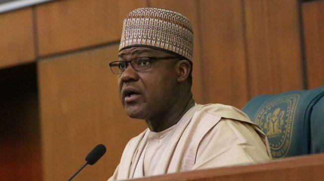 Speaker House of Reps, Yakubu Dogara, mourns a colleague (The Nation)