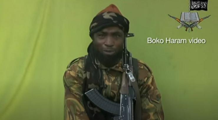 Abubakar Šekau skrinšot bbc news