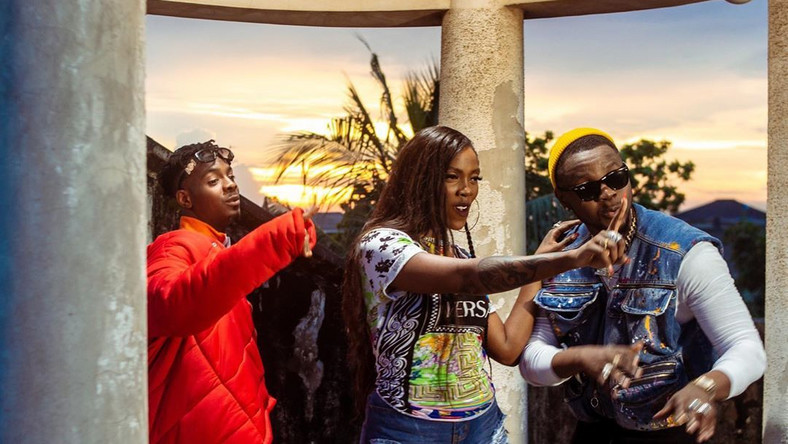 Image result for Tiwa Savage 'Ello Baby' Featuring Young John & Kizz Daniel