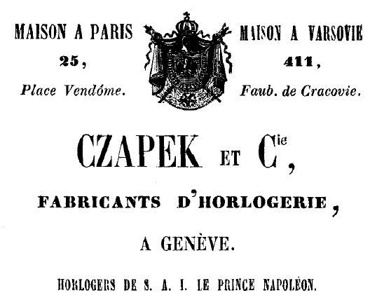 Reklama Czapek & Co (1850 r.) - domena publiczna