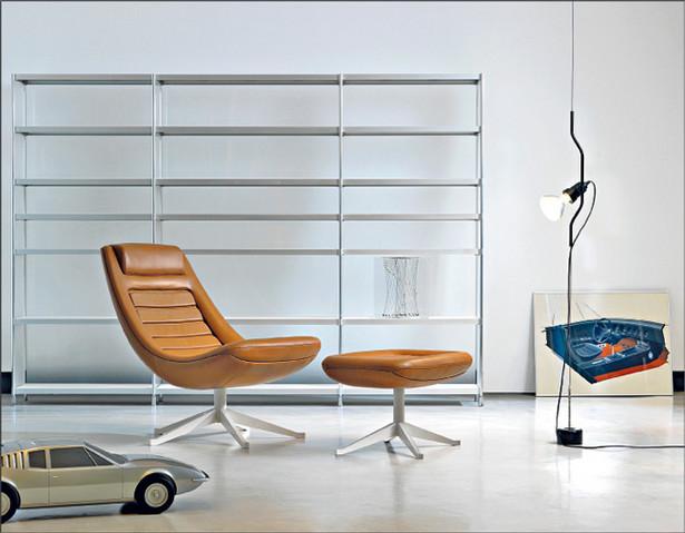 Fotel zaprojektowany dla Rinascente przez Renato Staffauchera Fot. Materiały prasowe