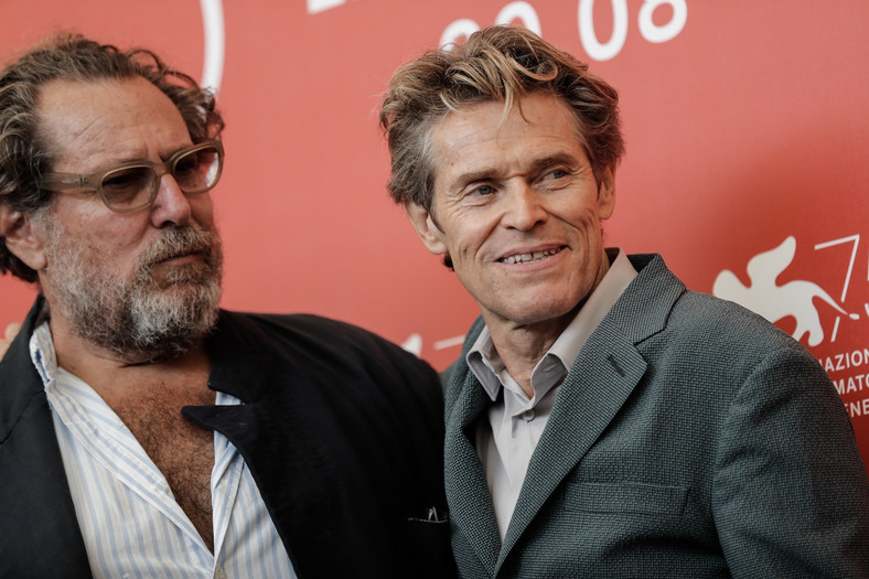 "75. MFF w Wenecji: ""At Eternity' s Gate"" Willem Dafoe"