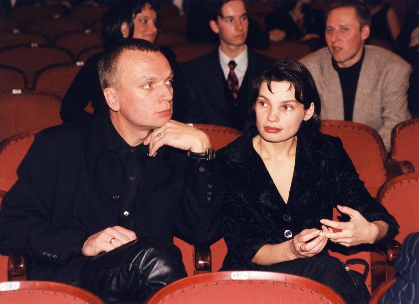Grzegorz Ciechowski i Anna Skrobiszewska