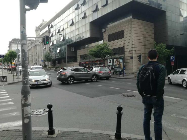 Sudar u Francuskoj ulici
