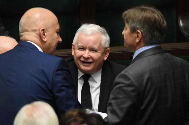 Prezes PiS Jarosław Kaczyński, PAP/Radek Pietruszka