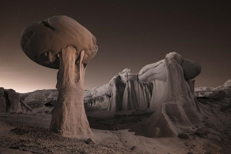 pustinje06 prirodne skulpture od gline novi meksiko foto profimedia