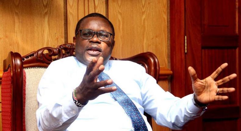 Speaker of the Senate Kenneth Lusaka