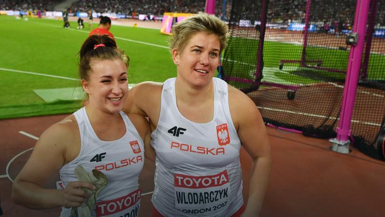 Malwina Kopron i Anita Włodarczyk