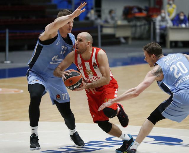 Detalj sa utakmice Zenit - Crvena zvezda