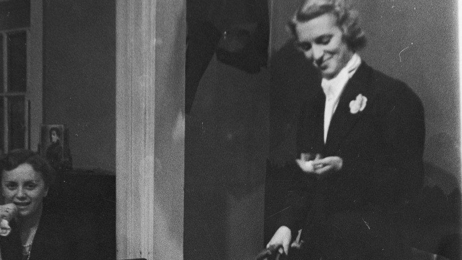 Irena Breza w latach 30.