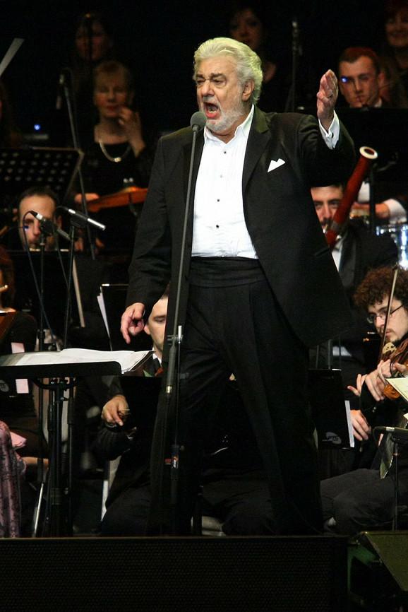 Plasido Domingo prošle jeseni nastupao u Beogradu