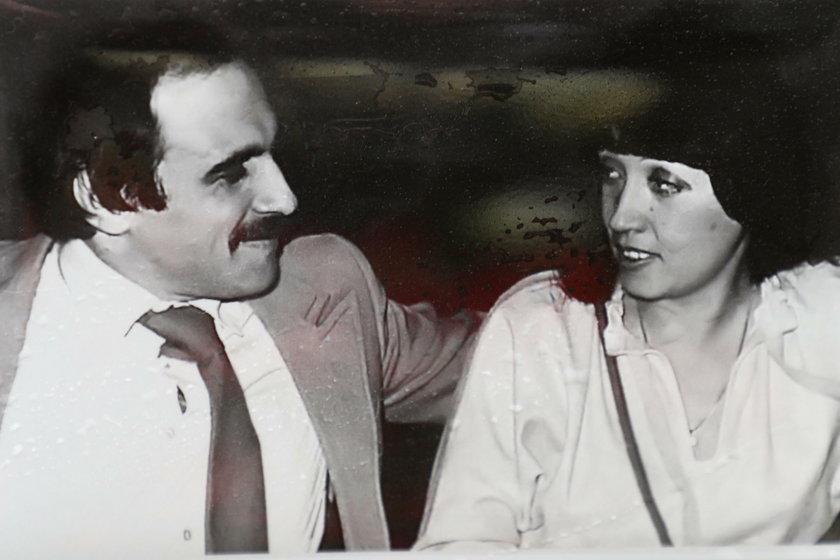 Andrzej Zaucha z żoną