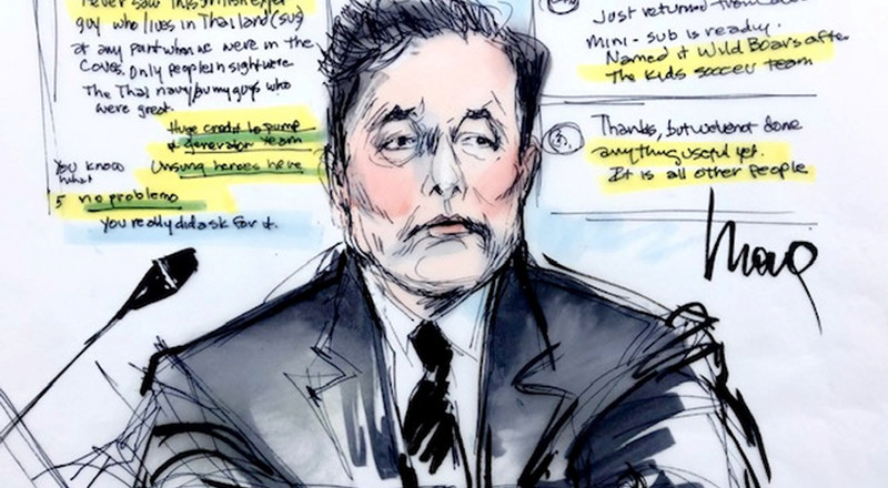 Elon Musk opens up about his wealth and his state of mind during second day of testimony in 'pedo guy' defamation trial