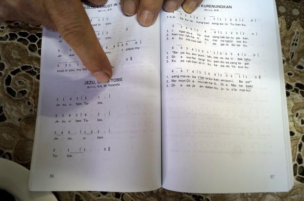 Polska pieśń w indonezyjskim modlitewniku