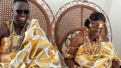 Funny Face's ex-wife marries again in traditional wedding (PHOTOS & VIDEOS)