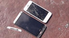 Test na upadek: HTC One kontra iPhone 5